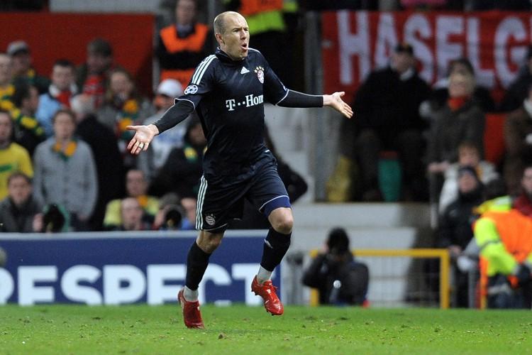 Arjen Robben a marqué le but décisif pour... (Photo: AFP)