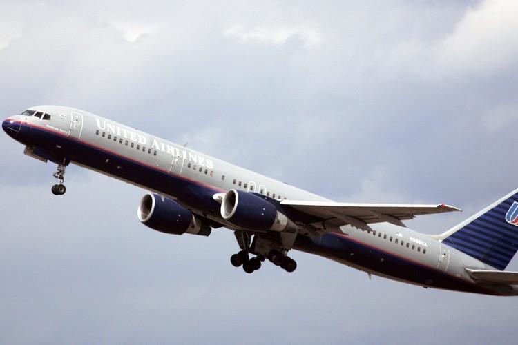 Un avion de la compagnie aérienne United Airlines.... (Photo: AP)
