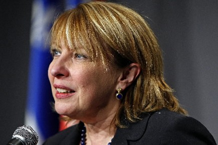 Christine St-Pierre... (Photo: Robert Mailloux, La Presse)