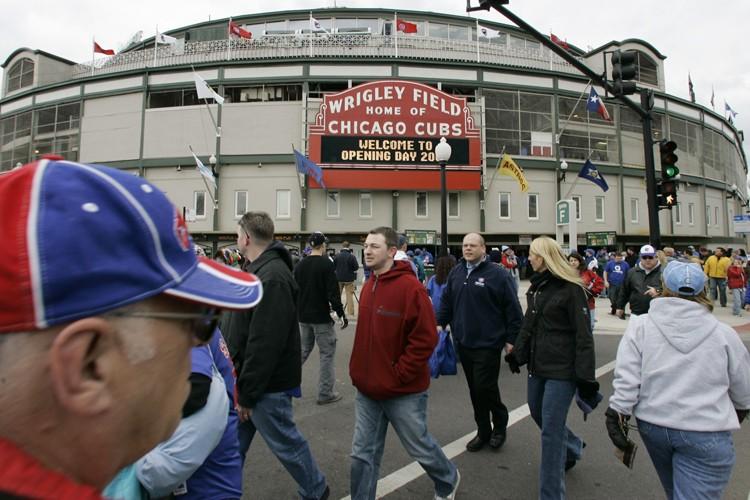 Les billets au Wrigley Field se vendent en... (Photo: AP)