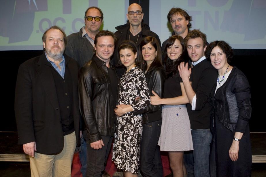 Une partie des acteurs de la saison 2010-2011... (Photo: Robert Skinner, La Presse)