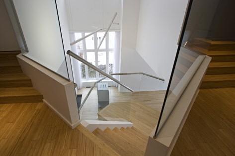 L'escalier d'origine n'a pas été repositionné. Il a... (Photo: François Roy, La Presse)