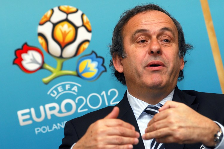 Le président de l'UEFA, Michel Platini... (Photo: Reuters)