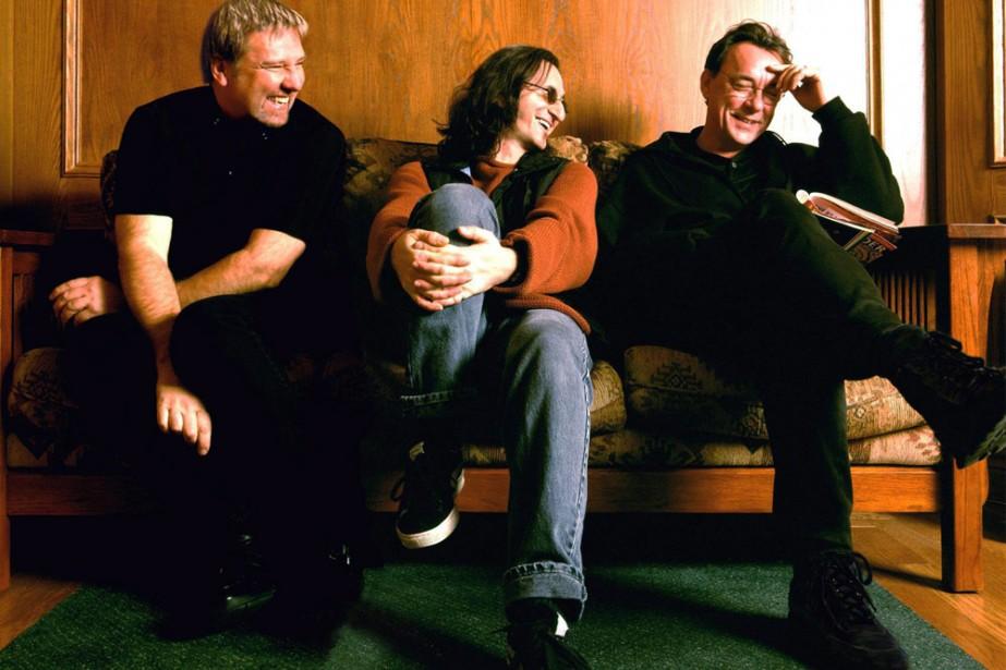 Alex Lifeson, Geddy Lee et Neil Peart du... (Photo: PC)