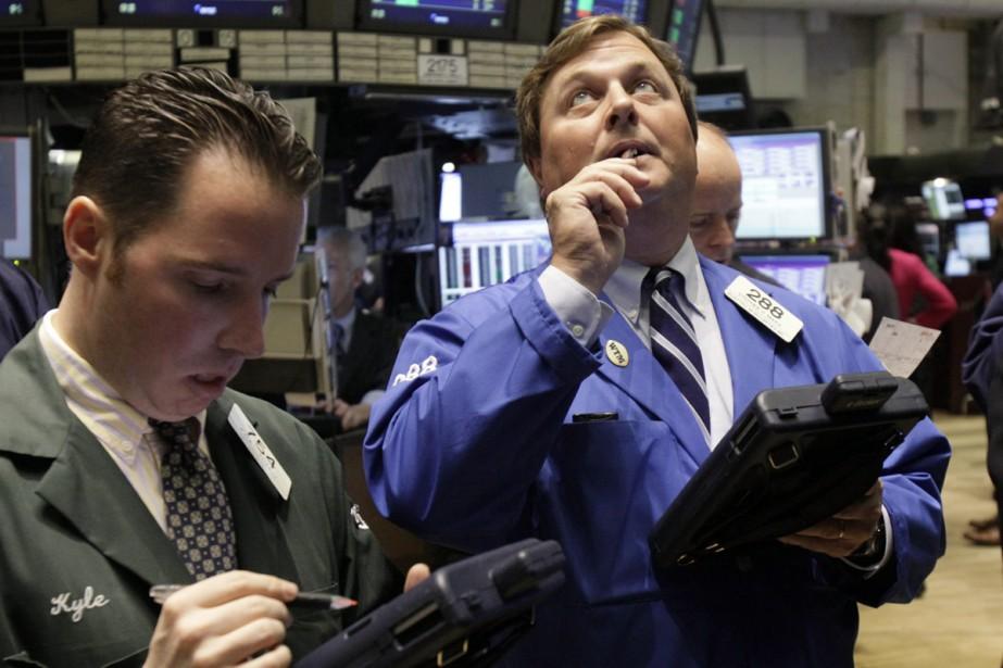 La Bourse de New York.... (Photo: AP)