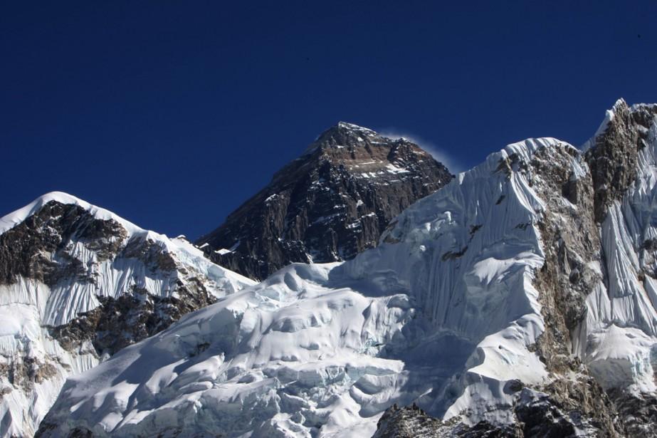 Le mont Everest... (Photo: AFP)