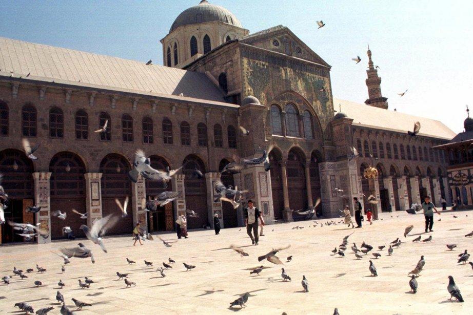 La Grande mosquée des Omeyyades de Damas... (Photo: archives AP)