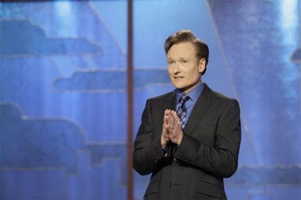 Conan O'Brien... (Photo: Reuters)