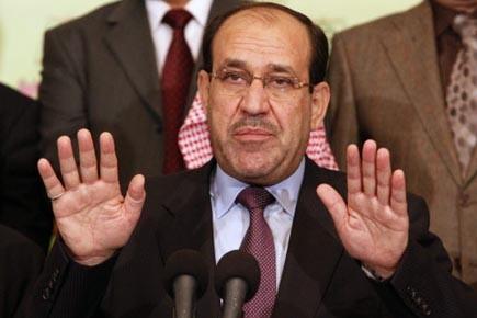 Nouri al-Maliki a refusé de reconnaître les résultats... (Photo: Hadi Mizbanm, AP)