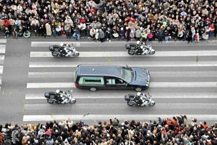 Des milliers de Polonais se sont rassemblés sur... (Photo: Reuters)