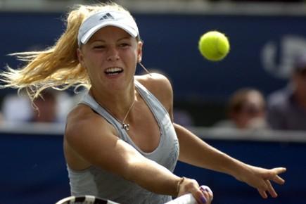 Caroline Wozniacki.... (Photo AP)