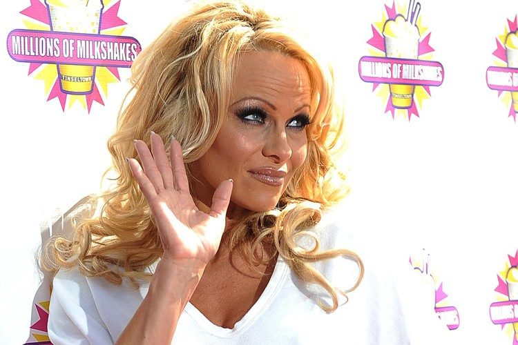 Pamela Anderson... (Photo: AFP)