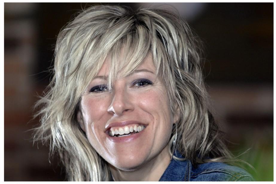 Luce Dufault, mercredi 21 avril au Club Soda... (Rémi Lemée, La Presse)