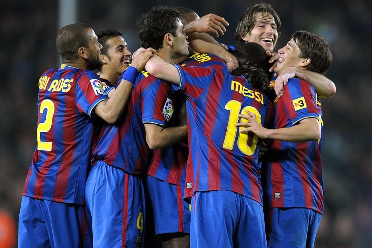 Le FC Barcelone a battu le Deportivo La... (Photo: AFP)