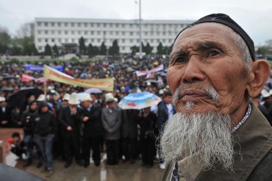 Des partisans du président déchu ont manifesté dans... (Photo: AFP)