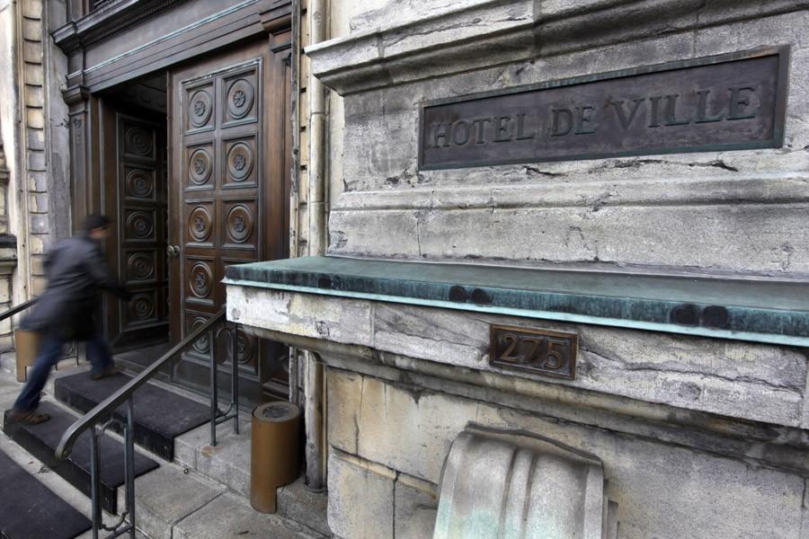 À la suite des fusions municipales, en 2003,... (Photo: Robert Skinner, Archives La Presse)