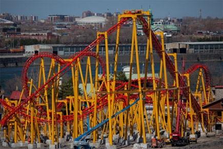 Le parc d'attractions montréalais La Ronde ouvre ses portes... (Photo: La Ronde)