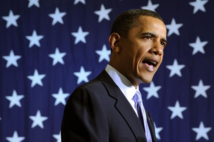 Barack Obama a dévoilé sa stratégie de poursuite... (Photo: AFP)