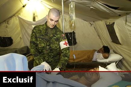 Dans la liste fournie par les Forces canadiennes,... (Photo fournie par les Forces canadiennes)