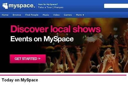 MySpace se veut l'un des sites internet musicaux... (www.myspace.com)