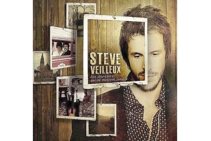 Pochette cd de Steve Veilleux...