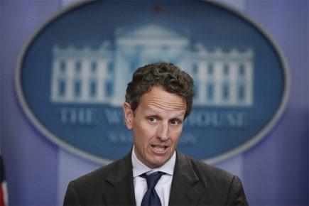 Le secrétaire américain au Trésor, Timothy Geithner... (Photo: AP)