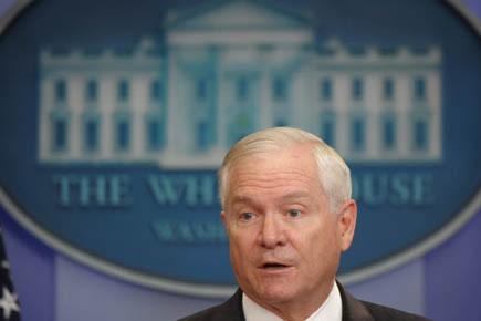 Le secrétaire américain à la Défense Robert Gates.... (Photo AFP)
