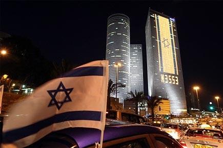 Israël célèbre le 62e anniversaire de la création... (Photo: AFP)