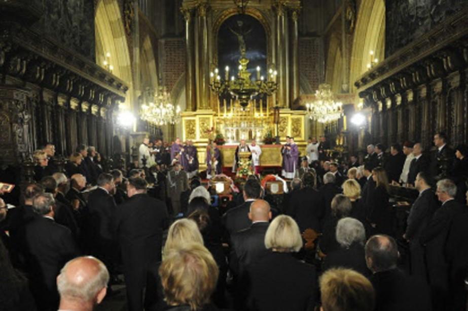 Les funérailles du président de la Pologne ont... (Photo: AFP)