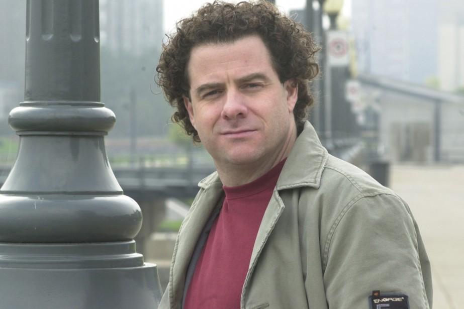 Le romancier Stéphane Bourguignon... (Photo: Rémi Lemée, archives La Presse)