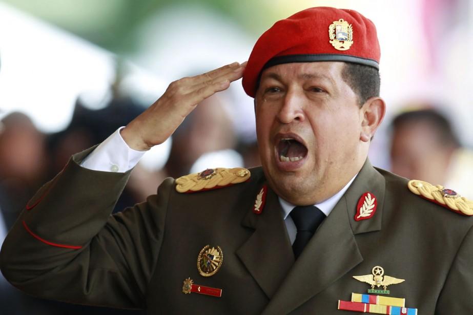 Le président Hugo Chavez a -de nouveau- été... (Photo: Reuters)