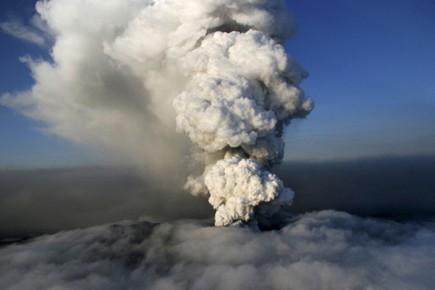 L'éruption du volcan Eyjafjallajökull a inspiré Sigrun Lilja... (Photo: Reuters)