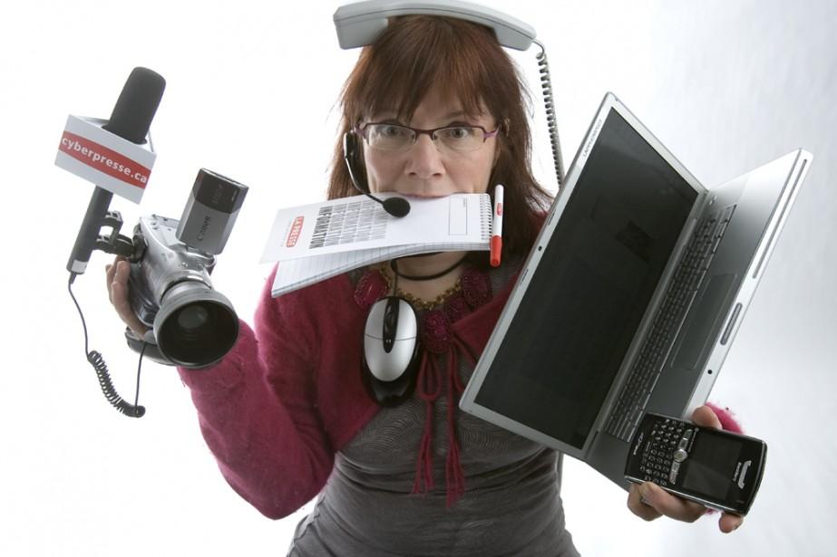 Le Slow Media n'est ni anti-technologie ni anti-modernité,... (Photo: Alain Roberge, La Presse)