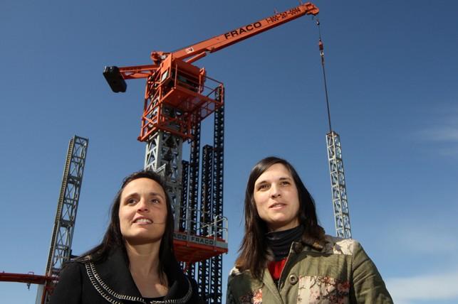 Les soeurs Emmanuelle et Julie Rainville.... (Photo Stéphane Champagne, collaboration spéciale)