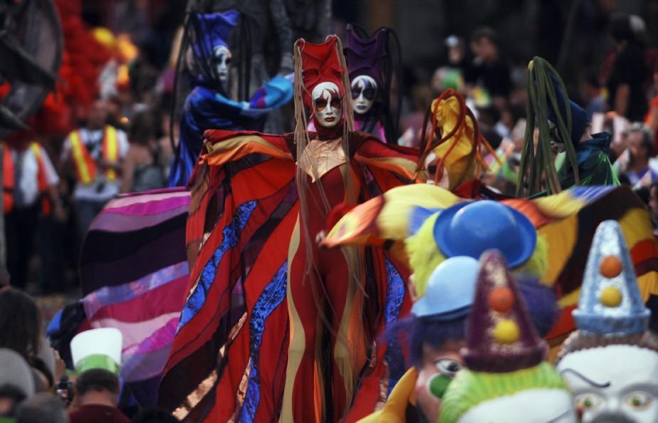 Montréal, et ses nombreux festivals - notamment Juste... (PHOTO: MARTIN CHAMBERLAND, ARCHIVES LA PRESSE)