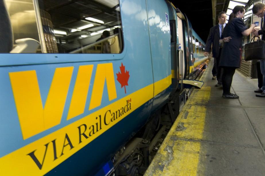 Via Rail propose des rabais de 60% sur... (Photo: Robert Skinner, La Presse)