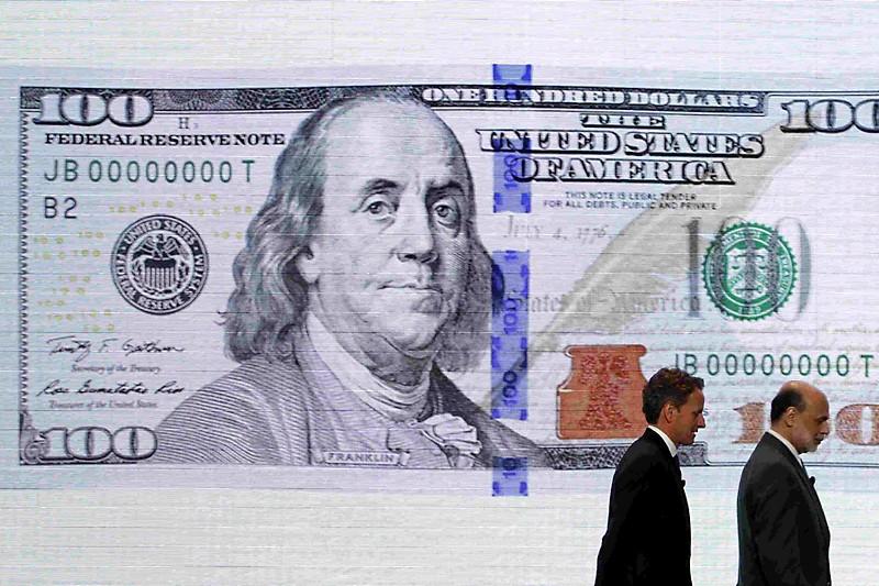 Le secrétaire américain du Trésor, Tim Geithner, et... (Photo Reuters)