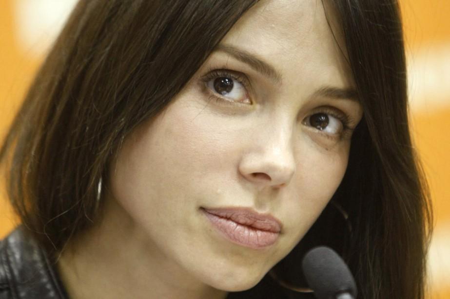 La chanteuse Oksana Grigorieva... (Photo: AP)