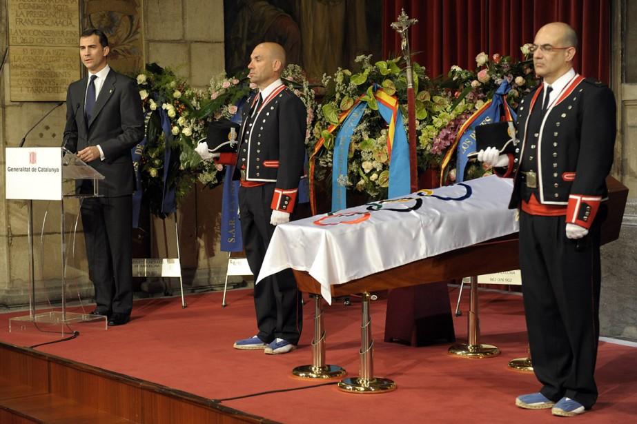 Une messe de funérailles en la cathédrale de... (Photo: AFP)