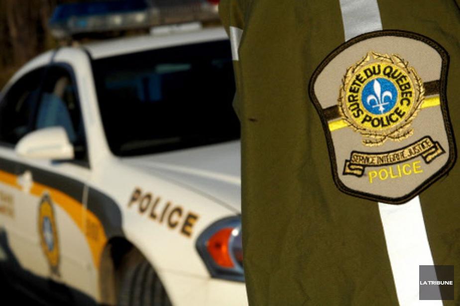 La Sûreté du Québec a procédé mercredi à... (Photo: Archives La Tribune)