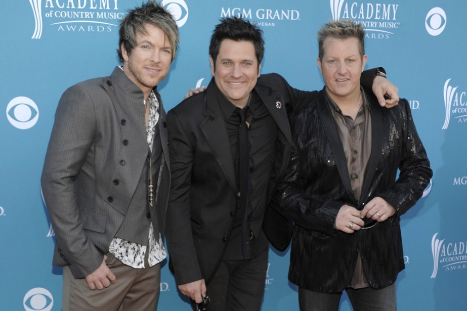 Le groupe Rascal Flatts... (Photo: AP)