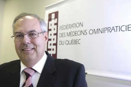 Le président de la Fédération des médecins omnipraticiens,... (Photo: André Tremblay, Archives La Presse)