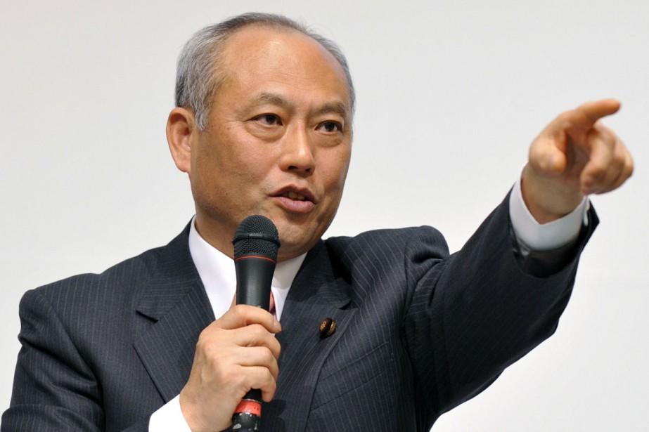 Yoichi Masuzoe.... (Photo: AFP)