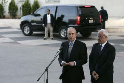L'envoyé spécial pour les États-Unis au Moyen-Orient, George... (Photo: ABBAS MOMANI, AFP)