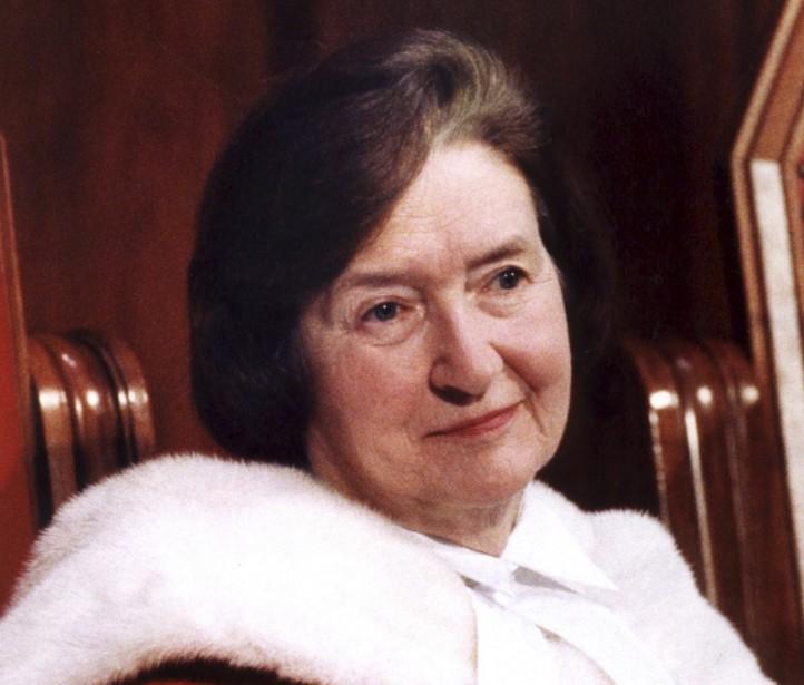 En nommant Bertha Wilson à la Cour suprême... (PHOTO: ARCHIVES LA PRESSE)