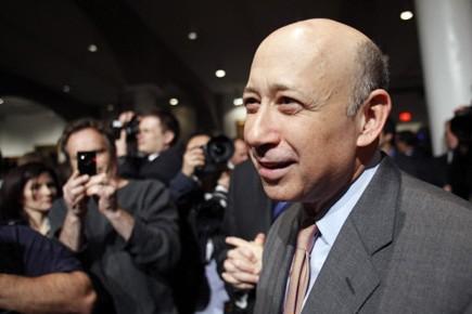 Lloyd Blankfein, PDG de Goldman Sachs.... (Photo Reuters)