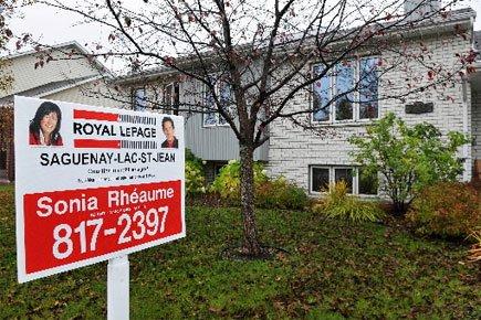 Le prix des maisons a grimpé en flèche au pays depuis un... (Photo Le Quotidien)