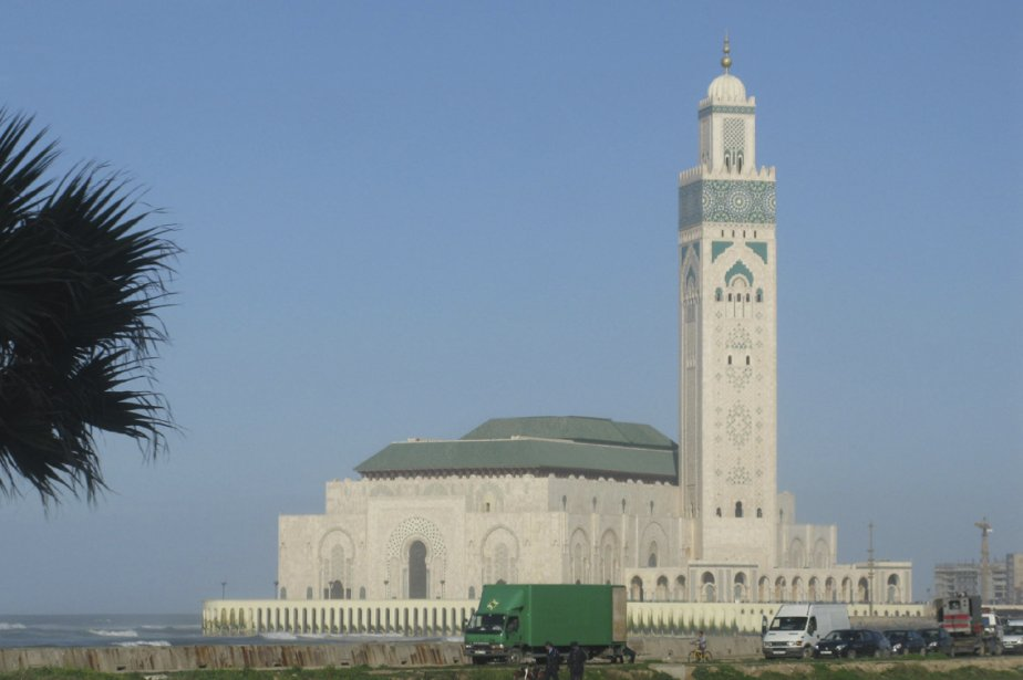 La Mosquée Hassan II... (Photo: Éric Clément, La Presse)
