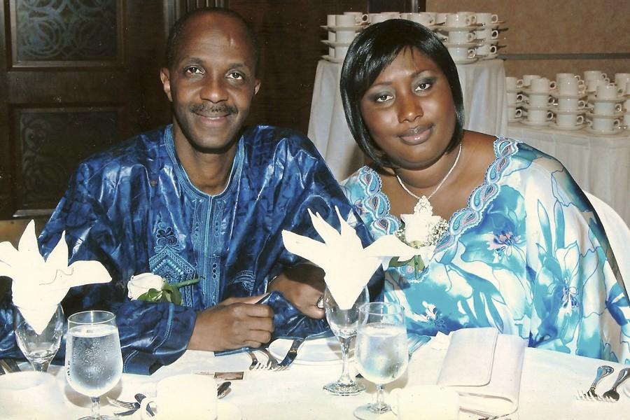 Abdoul Sow et Saydon Camara se sont mariés... (Photo fournie par le couple)
