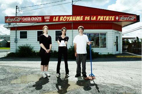 Le Royaume de la Patate, avenue Saint-Édouard, Plessisville,... (Photo: Luc Robitaille, Urbania)